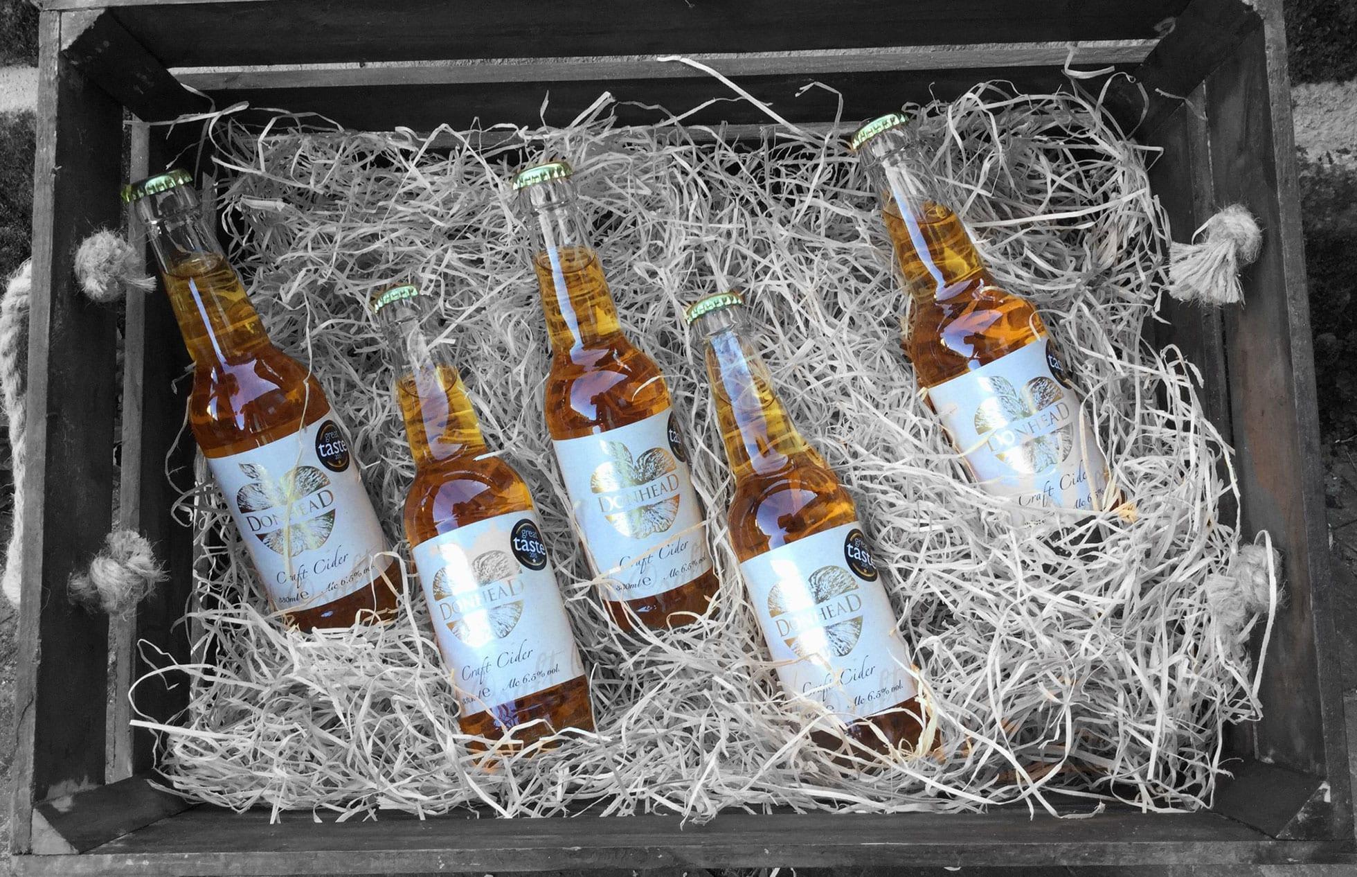 Donhead cider basket