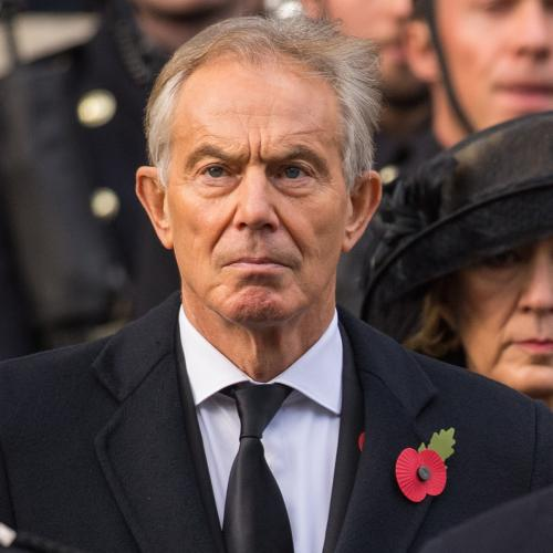 Remembrance Sunday 2017<br>Former prime minster Tony Blair (left) and Labour leader Jeremy Corbyn, during the annual Remembrance Sunday Service at the Cenotaph memorial in Whitehall, central London. PRESS ASSOCIATION Photo. Picture date: Sunday November 12, 2017. See PA story ROYAL Remembrance. Photo credit should read: Dominic Lipinski/PA Wire