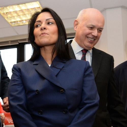 Priti Patel Israeli holiday<br>File photo dated 20/02/16 of Priti Patel with (left to right) Michael Gove, Chris Grayling, Iain Duncan Smith and John Whittingdale at the launch of the Vote Leave campaign ahead of the EU referendum. PRESS ASSOCIATION Photo. Issue date: Wednesday November 8, 2017. The International Development Secretary has been ordered back to Britain following the disclosure that she held further unauthorised meetings with Israeli politicians. See PA story POLITICS Patel. Photo credit should read: Stefan Rousseau/PA Wire