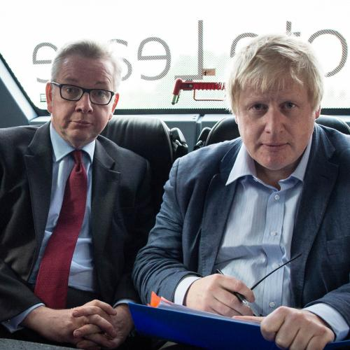 Michael Gove interview<br>File photo dated 01/06/16 of Michael Gove and Boris Johnson (right) on the Vote Leave campaign bus, as Mr Gove has spoken of his regrets about his bid for the Conservative Party leadership, admitting he made