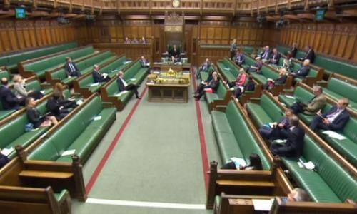 Commons chamber as MPs debate universal credit