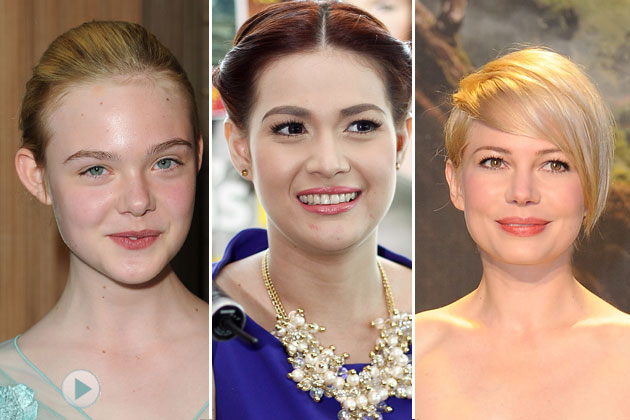 Are you sweet and playful like Elle Fanning, classic like Bea Alonzo or elegant like Michelle Williams?