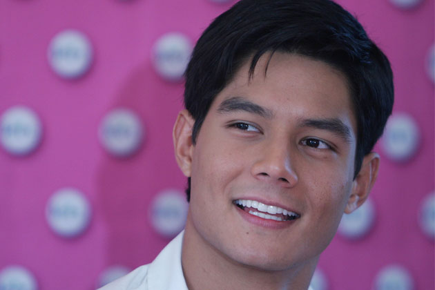 Like a good boy, Daniel Matsunaga enjoys a happy hour by the beach without alcohol.
