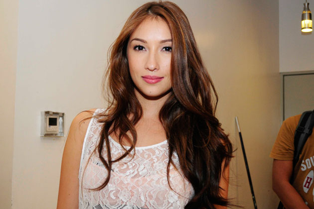 Solenn Heussaff doesn't let rainy days cramp her style.