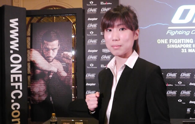 NICOLE CHUA to be Singapore's first female MMA fighter | Fit to ...