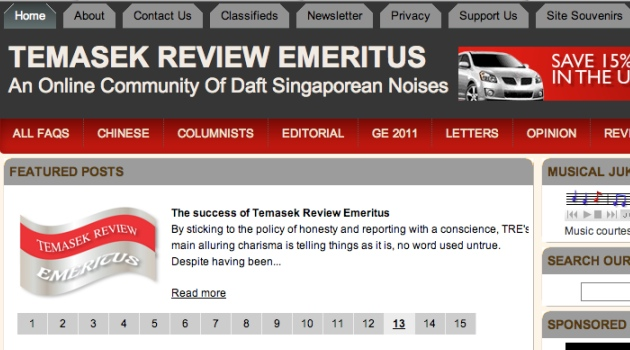 TEMASEK REVIEW EMERITUS to continue operations | Wealth Bingo - T3B ...