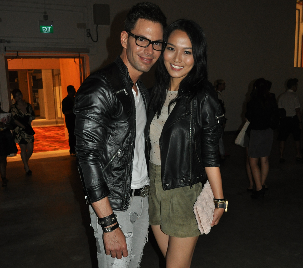 Joanne Peh, seen here with boyfriend Bobby Tonelli, is upset over ...