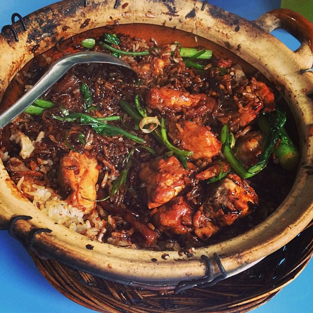 For Flavourful Claypot Rice
