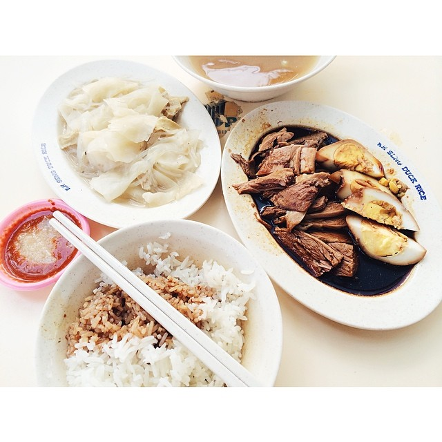 For Teochew Style Braised Duck