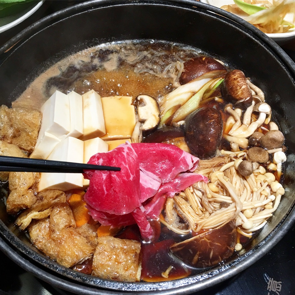 For Japanese Beef Sukiyaki