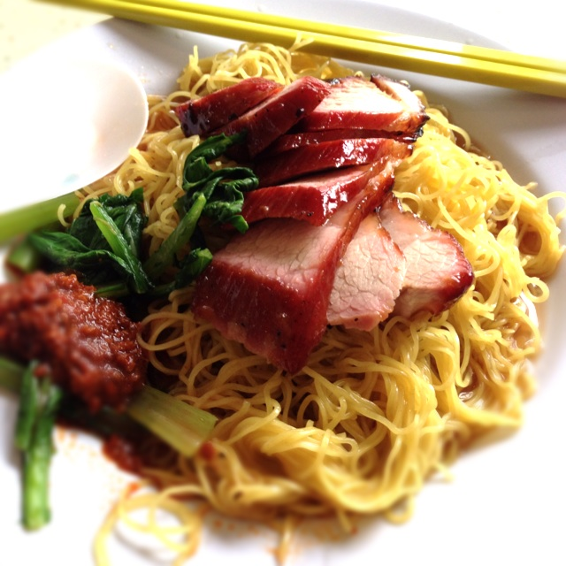 For Pig's Armpit Char Siew Noodles