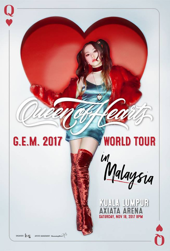 G e m brings her queen of hearts tour to malaysia for Diva sofia streaming