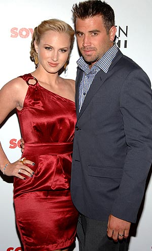 "Jason Wahler (""The Hills"") made the scene with his fiancee Katja Decker-Sadowski. - John Shearer/WireImage.com"
