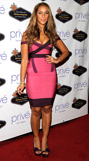 Leona Lewis strikes a pose at an afterparty in Las Vegas. - Frank Micelotta/GettyImages.com