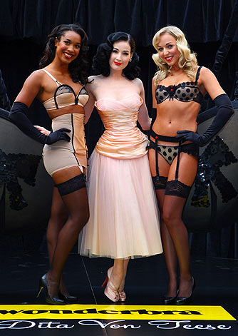 Dita's collection is inspired by old Hollywood glamour. - Mike Marsland/WireImage.com
