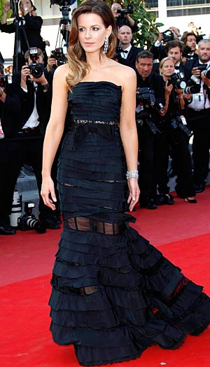 Kate Beckinsale at the 63rd Annual Cannes Film Festival in France, May 23, 2010. - KCSPresse/Splash News