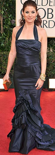 The redhead's halter, courtesy of Vera Wang, disappointed at the '09 Golden Globes. - Steve Granitz/WireImage.com