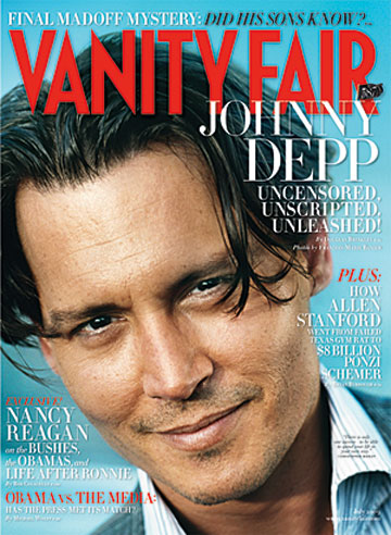 Johnny Depp posed for Vanity Fair's July issue in San Juan, Puerto Rico. - François-Marie Banier/Vanity Fair