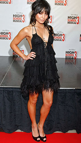 "Vanessa Hudgens hits the ""High School Musical 3"" Melbourne premiere. - Lucas Dawson/Getty Images"