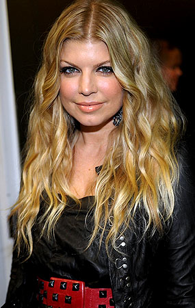 Fergie previously sported lighter locks - Stefanie Keenan/WireImage.com