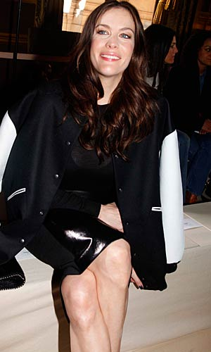 Liv Tyler front row at the Stella McCartney show. - Eric Ryan/Getty Images