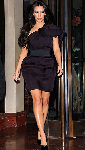 Kim Kardashian in NYC, January 19, 2011. - Jackson Lee/Splash News
