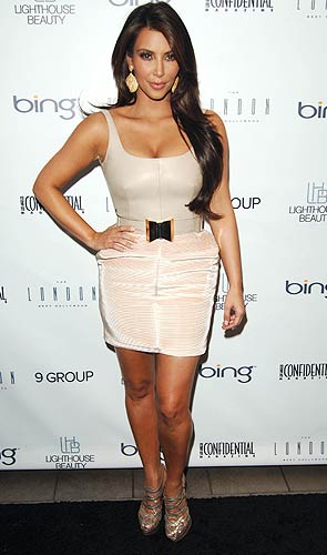 Kim Kardashian in Los Angeles, August 25, 2010. - Craig Barritt/WireImage.com