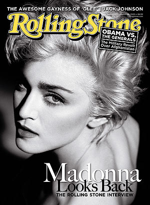 Madonna looks back on her crazy life and career in the November issue of Rolling Stone . - Rolling Stone