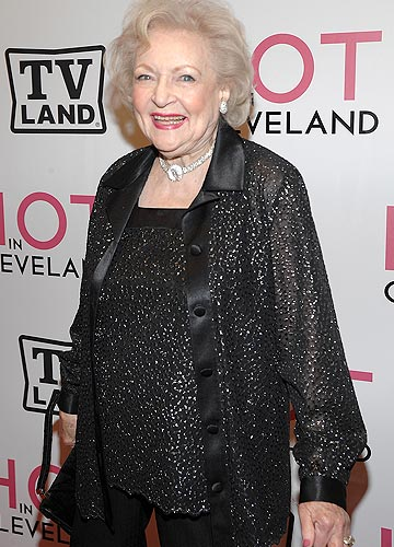 Actress Betty White, 88, is still going strong. - Dimitrios Kambouris/WireImage.com