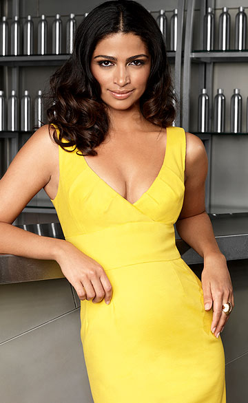 """Shear Genius"" host Camila Alves truly believes hair is important. ""If you screw up your hair, you're stuck with that for awhile and that's going to affect your confidence."" - Kevin Lynch/Bravo"