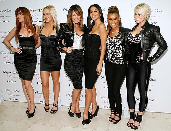 "Robin Antin and the Pussycat Dolls celebrate the launch of ""...shhh"" at bebe in Beverly Hills. - Casey Rodgers/WireImage.com"