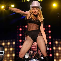 Madonna kicks off her world tour in Cardiff, Wales. - Kevin Mazur/WireImage.com