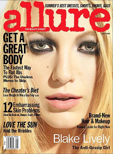 Blake Lively: Allure's May cover girl. - Michael Thompson/Allure