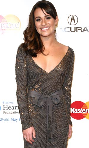 Actress Lea Michele attends the 2011 MusiCares Person of the Year at Los Angeles Convention Center on February 11, 2011 in Los Angeles, California.