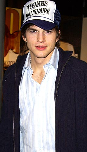 Did Ashton Kutcher inspire you to buy a trucker hat? - Steve Granitz/WireImage.com