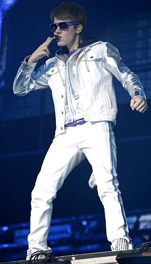 Justin Bieber performs live in Rotterdam, Netherlands, March 27, 2011. - Greetsia Tent/Hyperphoto Photography/WireImage.com