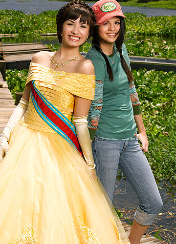 "Demi Lovato and Selena Gomez play opposites in the new Disney TV movie, ""Princess Protection Program."" - Disney Channel"