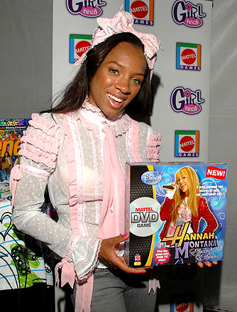 Who knew Lil Mama was a 'Hannah Montana' fan? - Michael Sullivan/WireImage.com