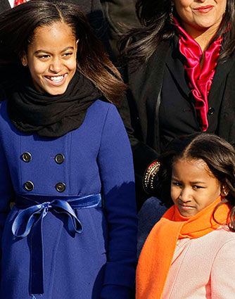 Malia and Sasha Obama get a lot of cool perks now that their dad is President of the United States! - Chip Somodevilla/Getty Images