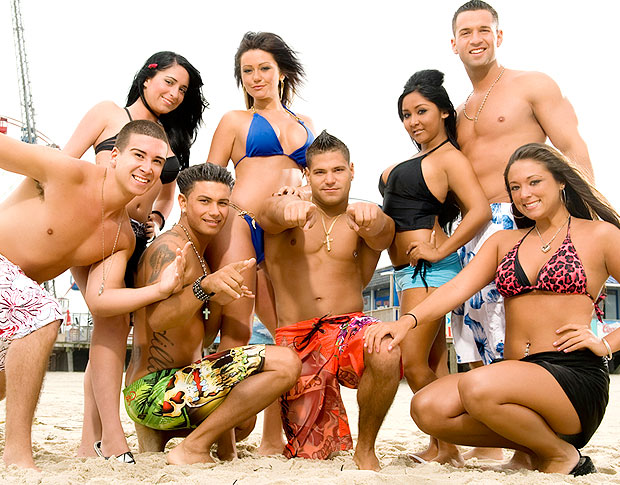 "The ""Jersey Shore"" cast is a treat for the eyes and the ears! - MTV"