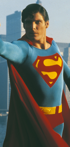 Reeve as Superman circa 1981. - AP Photo