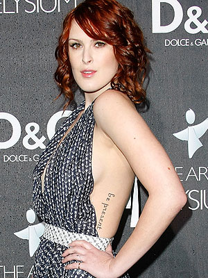 Will Rumer Willis still be a redhead at the 2009 Golden Globe Awards? - Michael Buckner/GettyImages.com