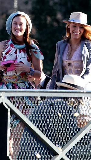 Leighton and Blake are all smiles. - PacificCoastNews.com