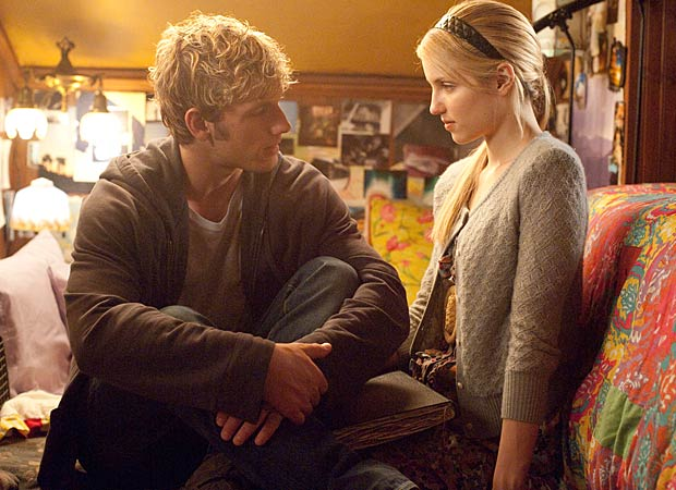 Number Four (Pettyfer) gets up close and personal with Sarah (Agron) in her bedroom. - John Bramley/DreamWorks