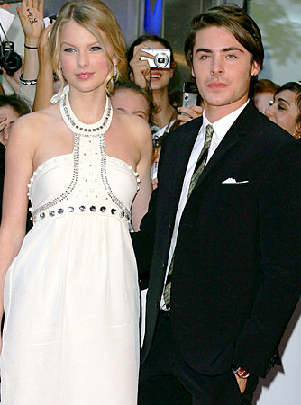 Taylor Swift and Zac Efron make quite the cute couple, but they're not together! - Don Arnold/WireImage.com