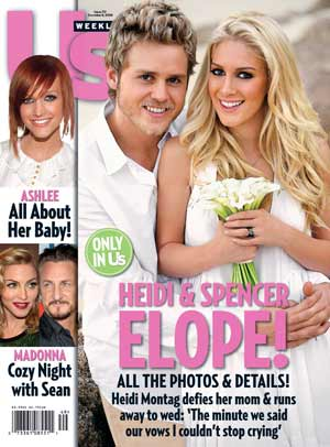 Spencer Pratt and Heidi Montag eloped, but they invited Us Weekly to their wedding! - Us Weekly