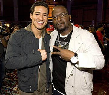 Mario Lopez and Randy Jackson are taking their hit MTV show on the road! - Chris Polk/WireImage.com