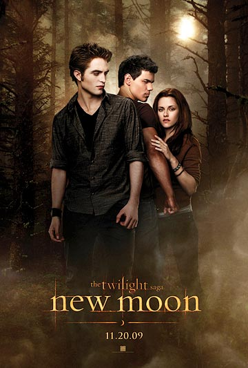 Edward, Jacob, and Bella are caught in a love triangle. - Summit Entertainment
