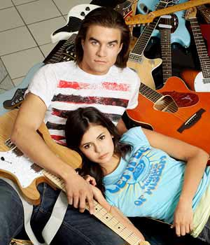 MTV's musical soulmates Joey (Rob Mayes) and Ally (Nina Dobrev) - Fred Hayes/MTV