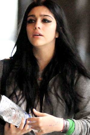 Lourdes Leon in New York, April 7, 2011. - Elder Ordonez/INFphoto.com